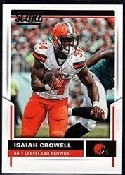 info for cd035 abc98 Tecmo 2K : Isaiah Crowell - RB #34 - New England Patriots